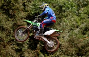 Pilotos testam as novas off road