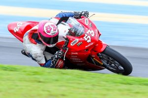 Leonardo Tamburro (#53), da equipe Honda MotoSchool de Talentos  Gilmar Rose / VGCOM